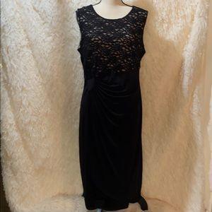 Enfocus Women Black After 5 Dress Size 16W